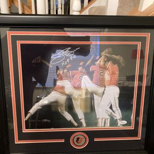 Signed Autographed Tillman Baseball Photo And Jersey for Sale in Pasadena, MD
