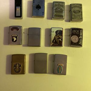 Zippo Lighters for Sale in Poplar Bluff, MO