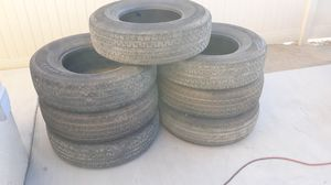 10ply trailer tires x7 for Sale in Jurupa Valley, CA