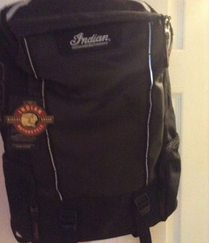 Indian scout motorcycle backpack new with tags for Sale in Powhatan, VA