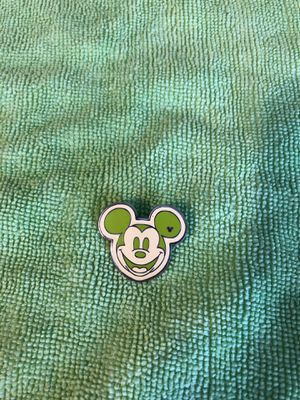 Disney Hidden Mickey Green Face Pin for Sale in Des Plaines, IL