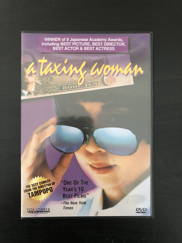 A taxing woman DVD
