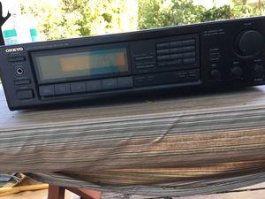 Onkyo amp tuner for Sale in Menlo Park, CA