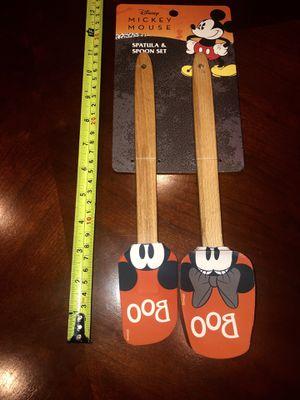 New Disney Mickey Halloween Spoon & Spatula Set for Sale in San Jacinto, CA