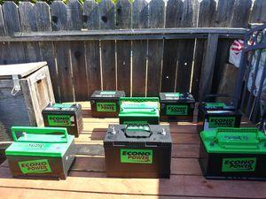 Batteries w/Warranty! Baterías c/Garantía! for Sale in Anaheim, CA
