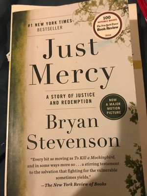 Just mercy by Bryan Stevenson for Sale in East Los Angeles, CA