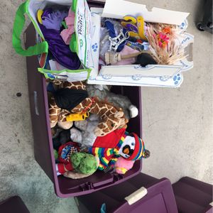 Bin Of Build-Bear Stuffed Animals & Clothes + Accessories for Sale in West Palm Beach, FL