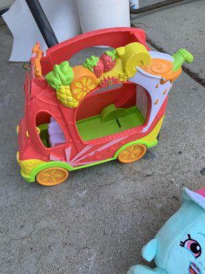 Shopkins car and a lush ice cream for Sale in Corona, CA