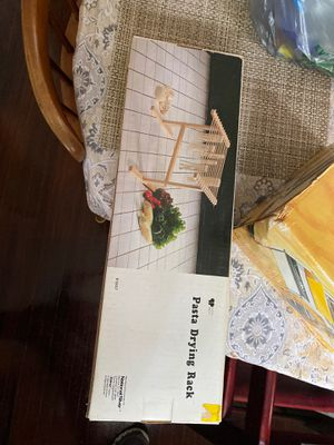Pasta maker and drying rack for Sale in NJ, US