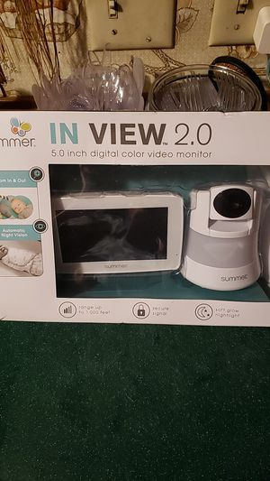 Summer Infant In View 2.0. Color Video Monitor- for Sale in Ravenswood, WV