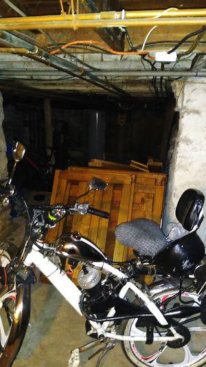 Motorized custom made bike for Sale in Taunton, MA