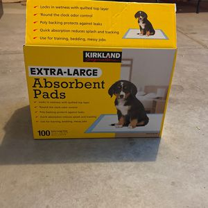 Dog Absorbant Pads XL for Sale in Lake Elsinore, CA