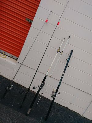 Fishing Rods Different Brands for Sale in Knightdale, NC