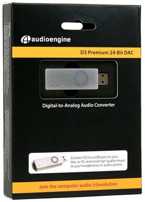 Audioengine D3 Portable DAC & Headphone Amp for Sale in North Miami Beach, FL