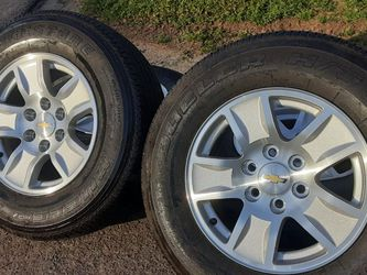 4 OEM Chevy Wheels Tires for Sale in Marietta,  GA