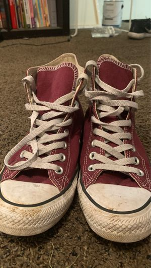 Burgundy Converse All Stars for Sale in Nashville, TN