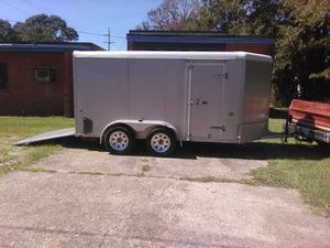 Cargo trailer asking 2800 non negotiable remote that lets up and down brakes lights inside for Sale in Baton Rouge, LA