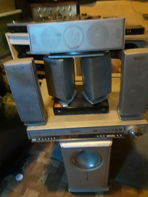 Panasonic DVD blue ray 5 disc bluray player home theater sound system for Sale in Philadelphia, PA