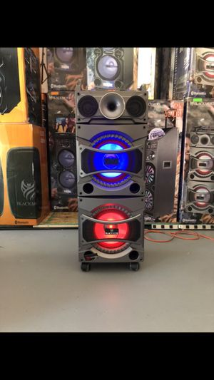 "Dual 10"" Bluetooth party speakers for Sale in Phoenix, AZ"