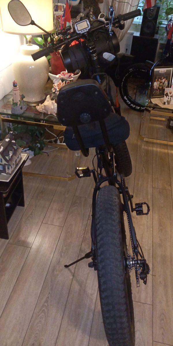 Walkie electric bicycle