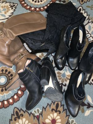 Designer women boots (100.00 for all) for Sale in Whittier, CA