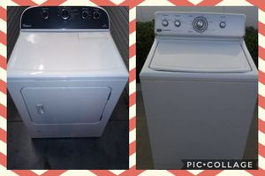 WHIRLPOOL CORPORATION WASHER AND DRYER for Sale in Poway, CA