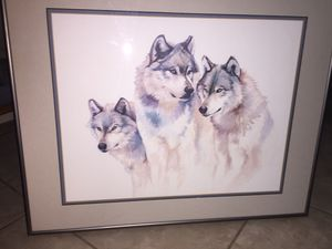 Wolf portraits $25.00 & under for Sale in Peoria, AZ