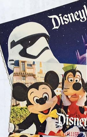 3 two day one park tickets to Disneyland for Sale in Phoenix, AZ