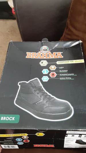 Brahma Composite Toe Work boots for Sale in Houston, TX