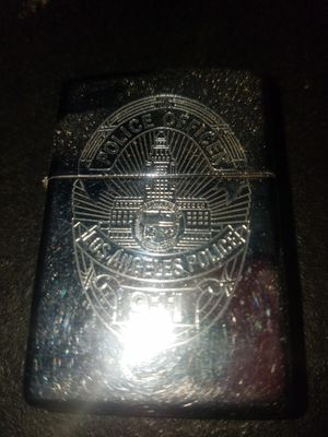 Zippo Los Angeles police 911 lighter for Sale in Covina, CA