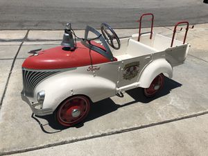 Ford fire truck pedal car for Sale in Brea, CA
