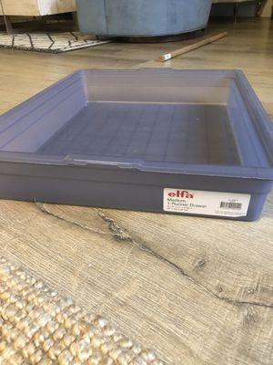 Elfa under bed drawer runner for Sale in Los Angeles, CA