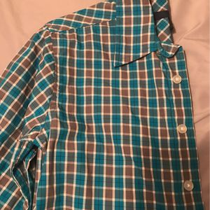 Boys Turquoise and Gray Shirt for Sale in Schaumburg, IL