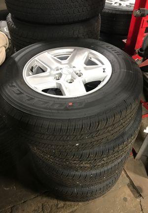 NEW Jeep Wrangler Gladiator wheels and Tires New take off JT JL SENSORS for Sale in Egg Harbor City, NJ