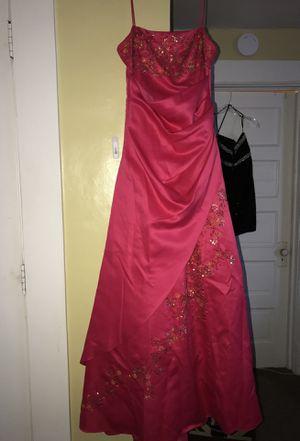 Prom dress Hot pink size 9 for Sale in Spokane, WA