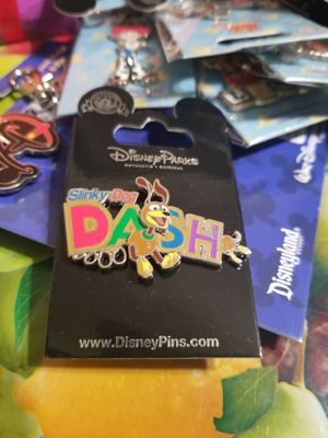 DISNEY PARKS Pin SLINKY DOG DASH TOY STORY LAND Collectible TRADING On Card NEW for Sale in Houston, TX