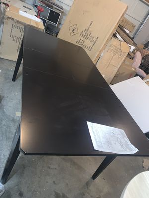 Furniture/Dining Tables Tilo Butterfly Dining Table Dark Brown for Sale in Murfreesboro, TN