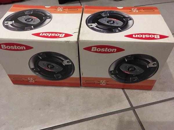 """Boston Acoustics SX55 5 1/4"""" speakers"""