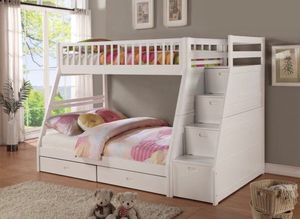 Bunk beds solid wood start at 250 for Sale in Sacramento, CA