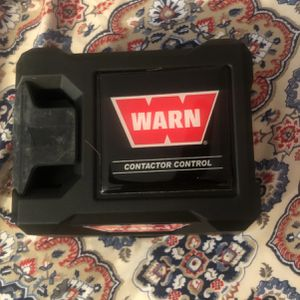 Warn Control Pack Cover Winch for Sale in Pittsburgh, PA