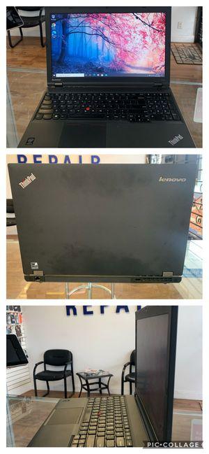 "Lenovo T540P 15.6"" laptop. i5 vPro, 8gb RAM, 256gb SSD for Sale in Oakland Park, FL"