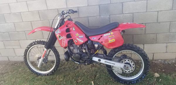 Honda dirty bike 1988 cr 250 motorcycle