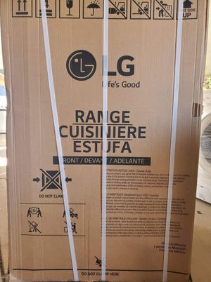 LG gas stove brand new for Sale in San Marcos, CA