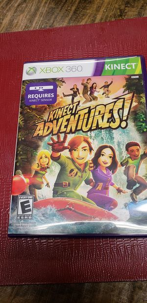 Xbox 360 kinect adventures for Sale in Farmville, VA