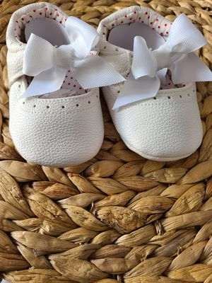 Cute baby white shoes for Sale in South Gate, CA