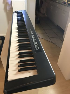 Piano 🎹M-Audio Keystation 88 for Sale in Los Angeles, CA
