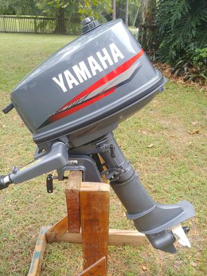 YAMAHA 5 HP 2 STROKE OUTBOARD MOTOR for Sale in Tampa, FL