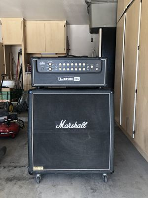 Marshall JMC 900 lead amp / Line 6 Duoverb head for Sale in Phoenix, AZ