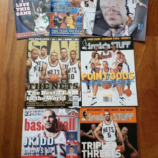 Jason Kidd New Jersey Nets NBA basketball magazines