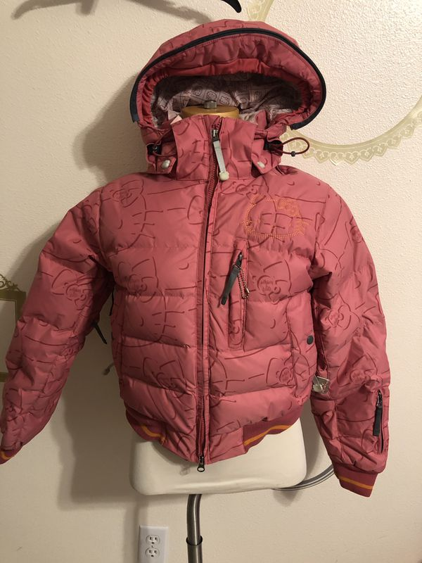 8fe7531df RARE LIMITED EDITION 686 HELLO KITTY PUFFER JACKET SIZE XS